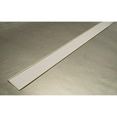 Etikettenrahmen, selbstklebend - Breite 1000 mm - Höhe 15 mm, VE 10 Stk