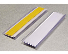 Tickethalter - selbstklebend - HxB 25 x 100 mm, VE 100 Stk