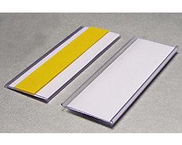 Tickethalter - selbstklebend - HxB 38 x 100 mm, VE 100 Stk