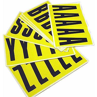 Schriftzeichenset - HxB 130 x 45 mm, 10 Karten