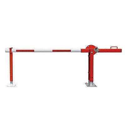 Mannus Wegesperre mit Gegengewicht - mit Gegengewicht und fester Auflagestütze