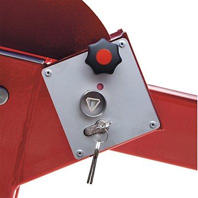 Dreikantschließung - nach DIN 3223 - für Wegesperre mit Gegengewicht, Set