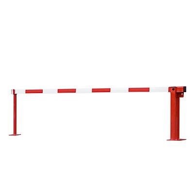 Wegesperre mit Gasdruckfeder - Auflagenstütze fest