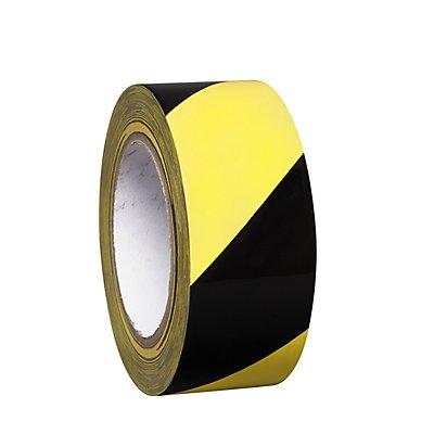MORAVIA Bodenmarkierungsband aus Vinyl, zweifarbig - Breite 50 mm