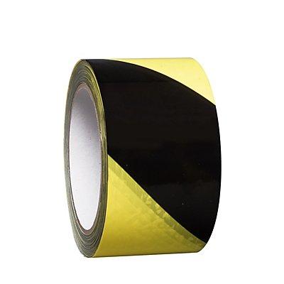 MORAVIA Bodenmarkierungsband aus Vinyl, zweifarbig - Breite 75 mm