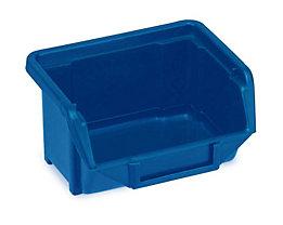Sichtlagerkasten aus Polypropylen - LxBxH 100 x 109 x 53 mm - blau, VE 40 Stk