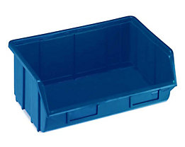 Terry Sichtlagerkasten aus Polypropylen - LxBxH 250 x 344 x 129 mm - blau, VE 12 Stk