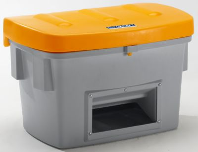 EUROKRAFT Streusandkiste - 100 Liter, mit Entnahmeöffnung