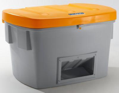 EUROKRAFT Universal- und Streusandbox - 700 Liter, mit Entnahmeöffnung