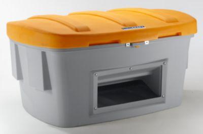 EUROKRAFT Universal- und Streugutkiste - 1000 Liter, mit Entnahmeöffnung