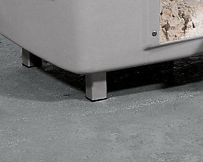 Untergestell - mit 4 Standfüßen