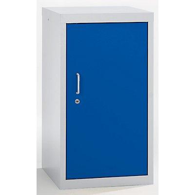 stumpf Umweltschrank, Türen geschlossen - HxBxT 900 x 500 x 500 mm, 2 Wannenböden