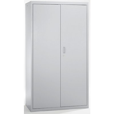 stumpf Umweltschrank, Türen geschlossen - HxBxT 1800 x 1000 x 500 mm, 4 Wannenböden