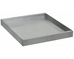 Wannenboden zusätzlich - BxT 500 x 500 mm - verzinkt