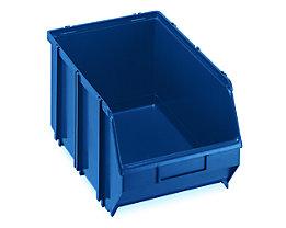 Terry Sichtlagerkasten, selbsttragend - LxBxH 341 x 210 x 167 mm - blau, VE 10 Stk