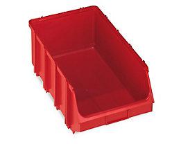 Terry Sichtlagerkasten, selbsttragend - LxBxH 500 x 307 x 190 mm - rot, VE 4 Stk