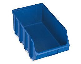 Terry Sichtlagerkasten, selbsttragend - LxBxH 500 x 307 x 190 mm - blau, VE 4 Stk