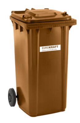 EUROKRAFT Conteneur à déchets en plastique conforme à la norme DIN EN... par LeGuide.com Publicité