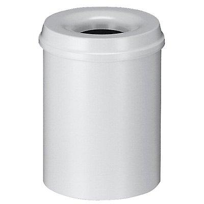Corbeille à papier anti-feu - capacité 15 l, hauteur 360 mm