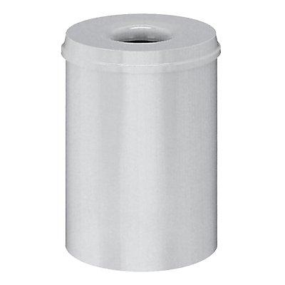 Corbeille à papier anti-feu - capacité 30 l, hauteur 470 mm