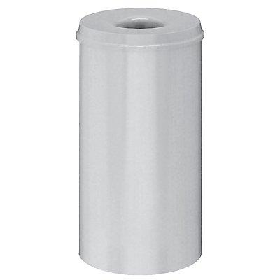 Corbeille à papier anti-feu - capacité 50 l, hauteur 625 mm