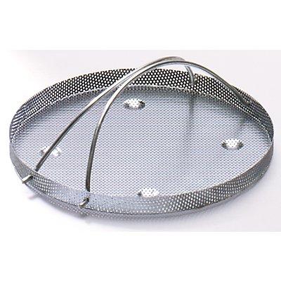 Teilekorb mit Siebboden - für Stahlblech-Ausführung - geeignet für Inhalt 2 – 8 l
