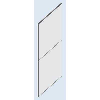 hofe Rückwand-Verkleidung - Vollblech, für Höhe 2500 mm