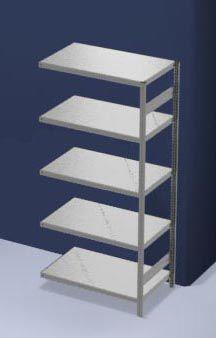 hofe System-Steckregal, Bauart mittelschwer - Regalhöhe 2000 mm