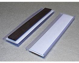 Tickethalter - magnetisch - HxB 25 x 100 mm, VE 100 Stk