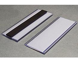 Tickethalter - magnetisch - HxB 38 x 100 mm, VE 100 Stk