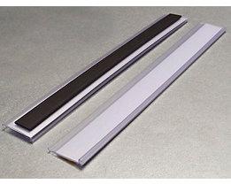 Tickethalter - magnetisch - HxB 25 x 200 mm, VE 50 Stk