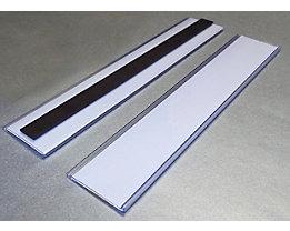 Tickethalter - magnetisch - HxB 38 x 200 mm, VE 50 Stk