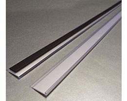 Tickethalter - magnetisch - HxB 25 x 1000 mm, VE 10 Stk