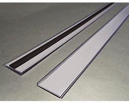 Tickethalter - magnetisch - HxB 38 x 1000 mm, VE 10 Stk