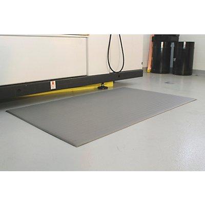 COBA Anti-Ermüdungsmatte aus PVC - LxB 1500 x 910 mm, VE 1 Stück - grau