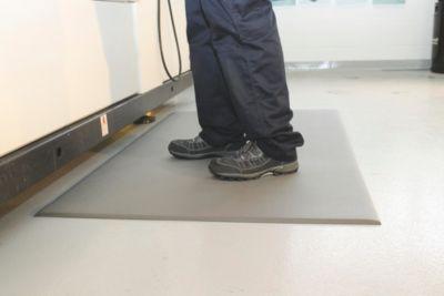 Anti-Ermüdungsmatte - PVC mit Hammerschlagoptik, 900 mm x lfd. m