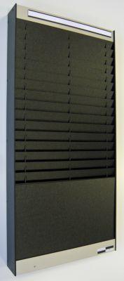 Dokumentensortiertafel - 2 x 16 Fächer, DIN A5, Dokumentenlage vertikal
