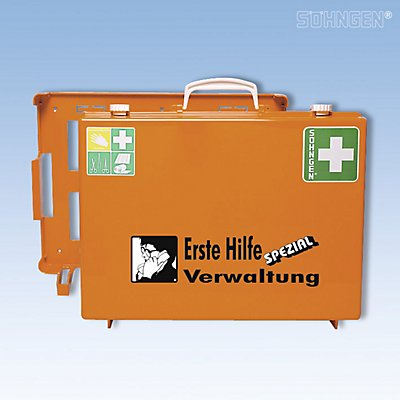 SÖHNGEN Erste-Hilfe-Koffer SPEZIAL - berufsrisikenbezogen, Inhalt nach DIN 13157