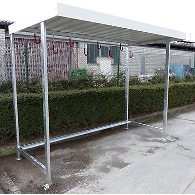 Melzer Metallbau Überdachung mit Fahrradaufhängung - Grundeinheit