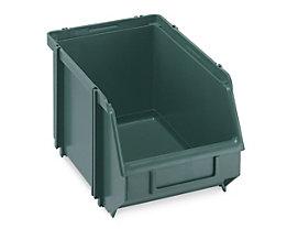 Terry Sichtlagerkasten, selbsttragend - LxBxH 234 x 147 x 129 mm - grün, VE 30 Stk