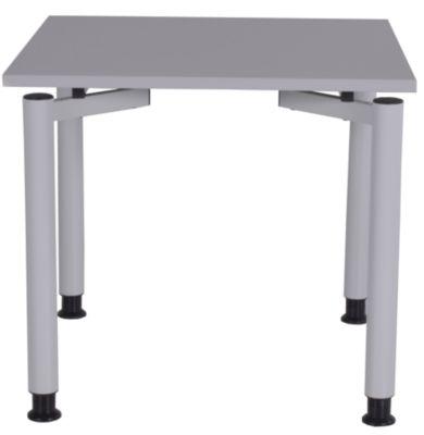 office akktiv CARINA Schreibtisch mit Rundrohrbeinen - Breite 800 mm