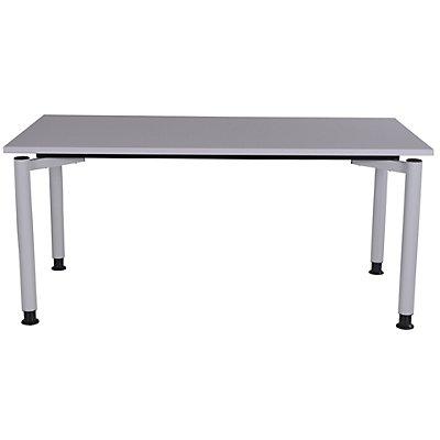 office akktiv CARINA Büro Schreibtisch mit Rundrohrbeinen - Breite 1800 mm