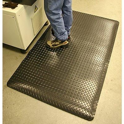 Anti-Ermüdungsmatte, PVC / Neopren - Zuschnitt, max. 18,3 m, schwarz