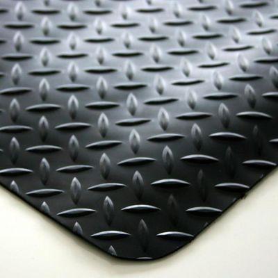 Anti-Ermüdungsmatte, PVC / Neopren - feste Größe, schwarz
