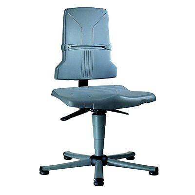 bimos Arbeitsdrehstuhl – SINTEC - Kunststoff, Standard-Ausführung