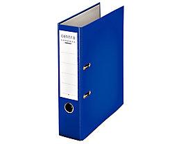 Ordner DIN A4 mit Kunststoffoberfläche - Rückenbreite 80 mm, VE 20 Stk - blau