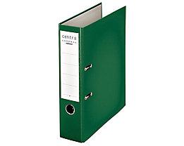 Ordner DIN A4 mit Kunststoffoberfläche - Rückenbreite 80 mm, VE 20 Stk - grün