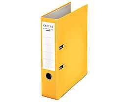 Ordner DIN A4 mit Kunststoffoberfläche - Rückenbreite 80 mm, VE 20 Stk - gelb