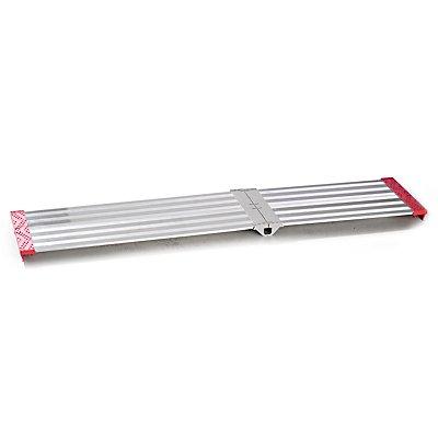 Alu-Plattform - zweiteilig - Gewicht 2,5 kg