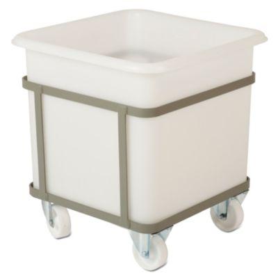 Fahrgestell - für Behältergröße 100 l - 2 Lenk- und 2 Bockrollen